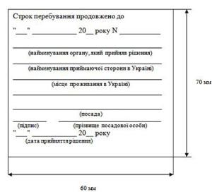 Как продлить срок пребывания в Украине